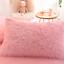 Doona-Quilt-Cover-Set-Luxury-Plush-Shaggy-Duvet-Faux-Fur-Home-Pillow-Case-Sheet miniature 6