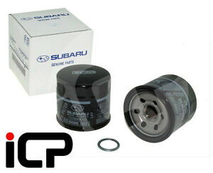 Genuine-Original-BLACK-Oil-Filter-fits-Subaru-Impreza-Legacy-Forester-15208AA100