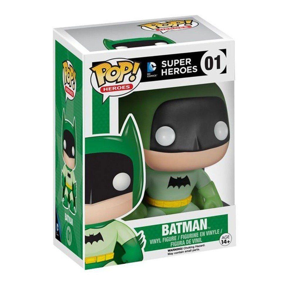 Batman 75th Anniversaire green ARC EN CIEL POP Figurine en vinyle métro jouet