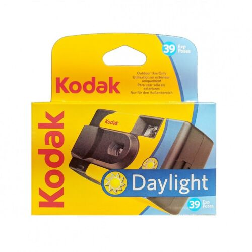 Kodak Daylight 800 ISO Film 39 Exp. Disposable Single Once Use Camera