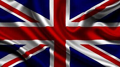 Nett United Kingdom Flag Bügelbild,markenqualität Waschbar Bis 95°c Der Preis Bleibt Stabil