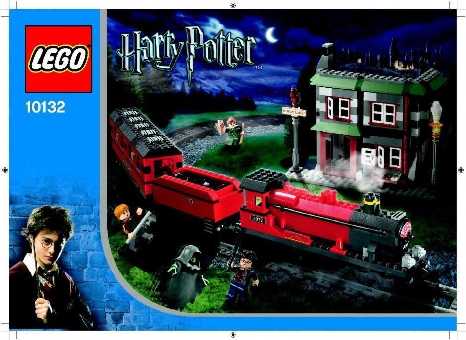 Lego 10 Hogwarts Express. Usado 100% completo con receta, no box