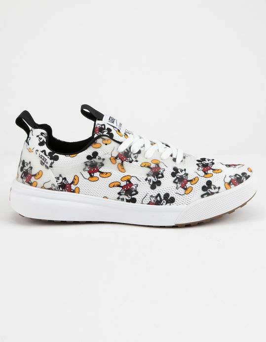 Disney x Vans UltraRange Rapidweld Mouse Shoe 80's Mickey Mouse Rapidweld  Print Uomo Sizes 3068c6