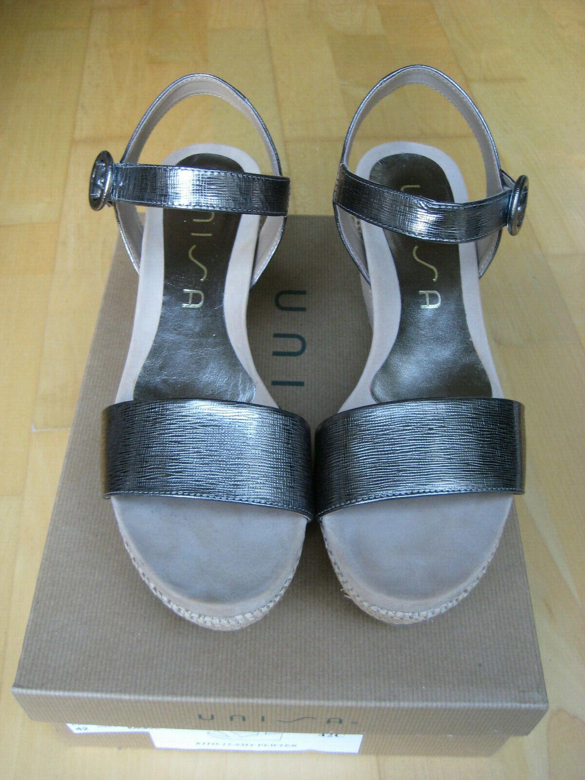 Große Auswahl Keilabsatz 42 Größe bronze Kito Sandale NEU