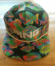 Vtg NWOT OLD STOCK Ping Golf Cap Retro Multi Colored FISH NEVER USED READ ALL