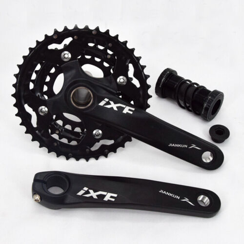 3x10S MTB Bike CNC Crankset 170mm Crank 104//64bcd Chainring Bottom Bracket BB