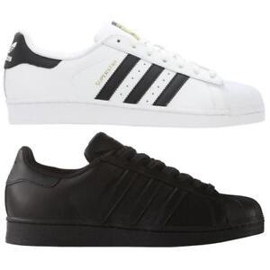 sports shoes 1ef54 97bb5 La imagen se está cargando Adidas-Superstar-Foundation-Originals-Zapatillas- Zapatos-Estilo-Retro-