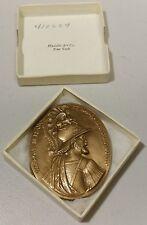 Vintage -70mm -Henrickvs iii - Henry 3rd, France Bronze Medal- Excellent, in Box