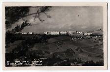 1953 JERUSALEM ISRAEL PC Postcard HADASSAH HOSPITAL Israeli JEWISH Judaism