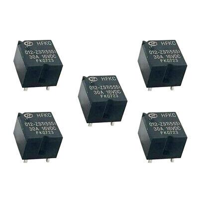 HFKC-T//012-2ZT Relais elektromagnetisch SPDT x2 USpule 12VDC 30A 550mW HONGFA
