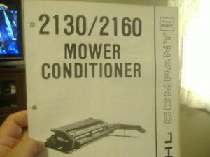 GEHL-2130-2160-MOWER-CONDITIONER-SERVICE-PARTS-MANUAL