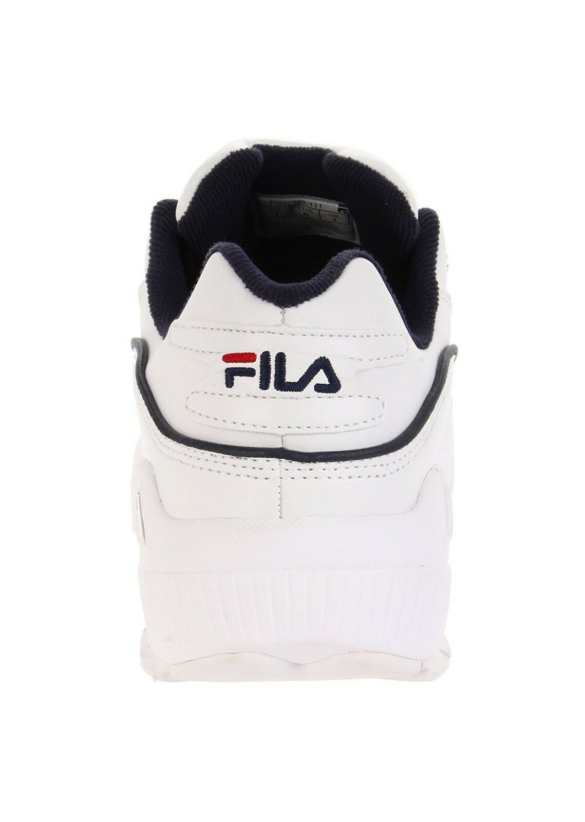 Fila Men/'s Hometown Extra Casual Sneakers Shoe FW02751-111 White//Navy//Red