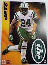 "Darrelle Revis 2016 Fathead Tradeable 5"" x 7"" New York Jets team logo - #32"