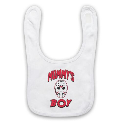 Friday the 13th Jason Voorhees Officieux Horreur Mummy/'s Garçon Bavoir Bébé Mignon Bébé