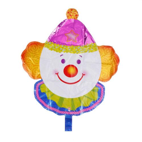 clown foil ballon for fesitval happybirthday children kid party decoration kidJH