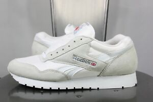 84aca61cbd4ee vintage Reebok classic sneakers US 10 UK 7.5 EU 41 white leather ...