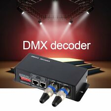 4CH DC12-24V RGBW DMX 512 Decoder LED Controller RGB LED DMX512 Decoder XC
