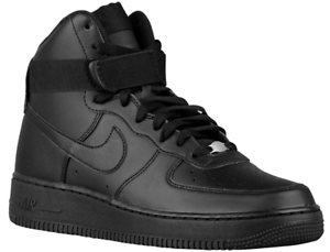 771f90d224816 Details about NIKE AIR FORCE 1 ONE HIGH '07 All Black 315121-032 Mens SHoes  SZ 9.5
