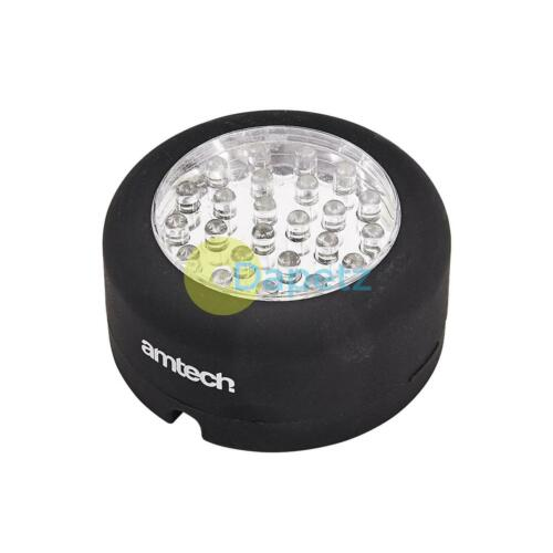 24 LED Round Hanging-Magnetic Worklight Emergency Flashlight Torch Emergency