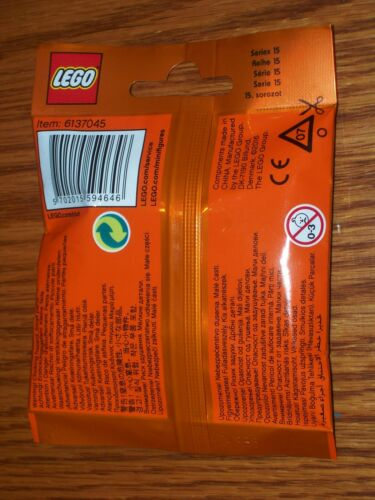 """~ 71011 SEALED PACK 2016 LEGO MINIFIGURES SERIES 15 ~ The /""""BALLERINA/"""""""