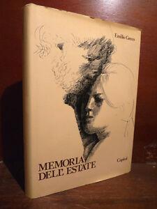 Ensoleillé Arte Scultura - Emilio Greco : Memoria Dell' Estate - 1980 Dedica Autografo Aut.