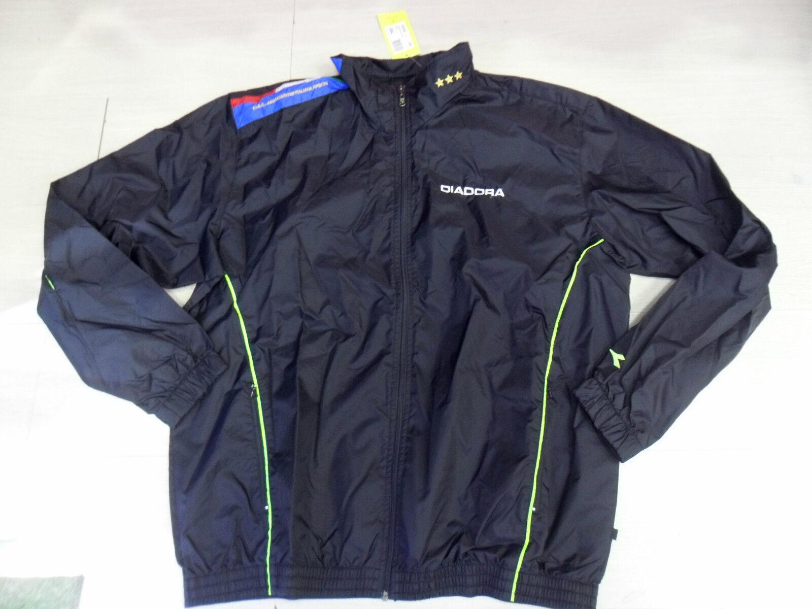 0265 Diadora Größe XXL ArmGoldt Jacket Wasserdicht Hühnerhof Bindung Italienisch