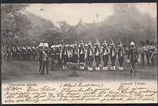Military Postcard - Coronation Review - Colonial Troops - West Indians   MB506