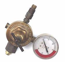HARRIS 93A-350A COMPRESSED GAS REGULATOR GAUGE,HARRIS 93-350A,ES