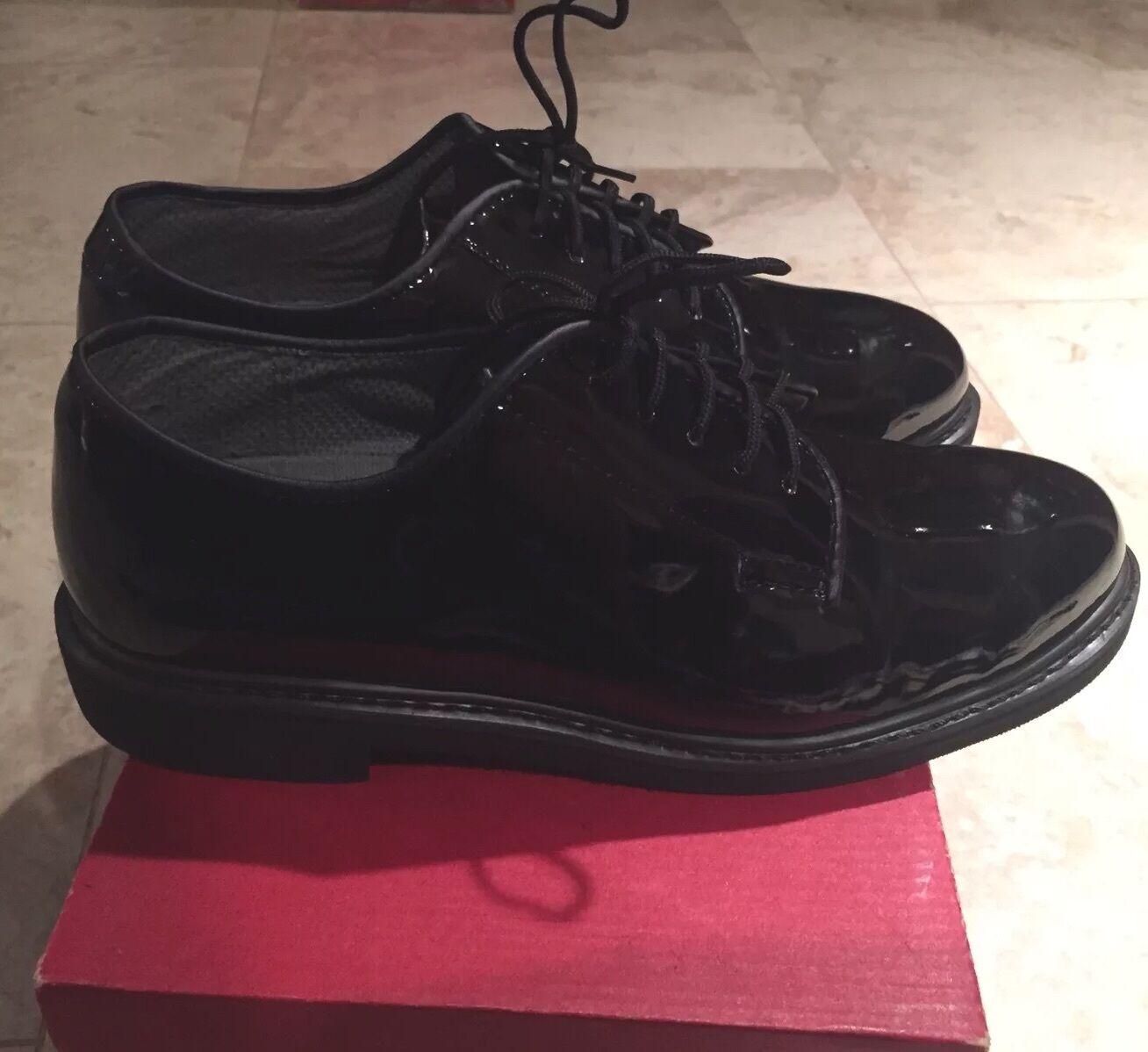 Rothco Military 5055 Oxford High Gloss Military Rothco Uniform Shoe Size 10.5 6068de