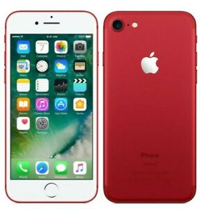 Apple-iPhone-7-128GB-RED-LTE-CDMA-GSM-Unlocked-Excellent-Condition