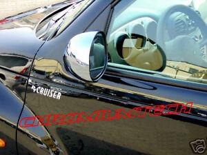 00-05-Chrysler-PT-Cruiser-CHROME-Door-Mirror-Cover-for-European-Left-Hand-Drive