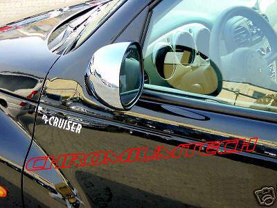 Australia 00-05 Chrysler PT Cruiser Porta Cromato Specchio Copertina Per Regno Unito RHD model