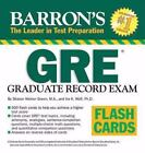 Barron's GRE Flash Cards by Sharon Weiner Green and Ira K. Wolf (2008, Cards,Flash Cards)