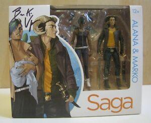 Saga Alana Et Marko 1ère Figurine Coffret Signé De Brian K. Vaughan 787926146912