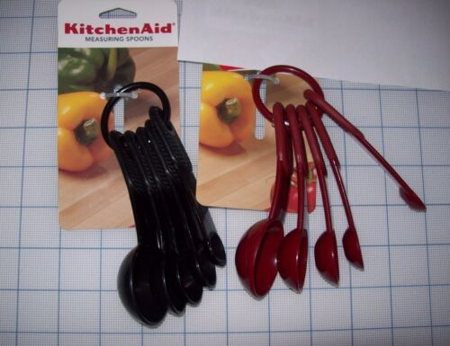 KITCHEN AID COOK/'S PROFESSIONAL SERIES MEASURING SPOONS DISHWASHER SAFE NEW WT