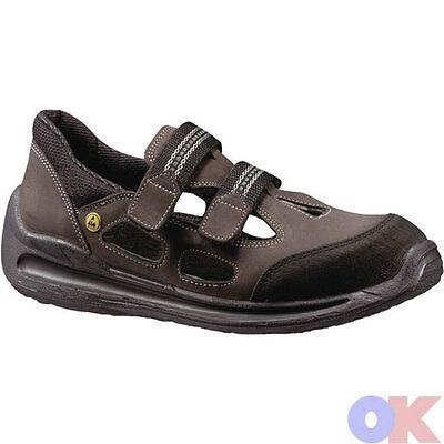 Sandale 38 48 Leder MAXGUARD A110 S1 Sicherheitssandale
