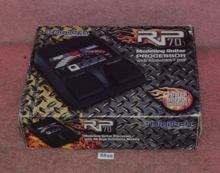 DigiTech Modeling Guitar Processor Model RP70V
