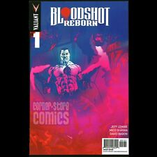 BLOODSHOT REBORN #1 Mico SUAYAN 1:10 INCENTIVE Variant Cover JEFF Lemire VALIANT