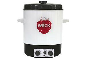 Weck-Einkochautomat-WAT-15-mit-Uhr-Einkochen-Automat-Einkochtopf-Topf-Einkocher