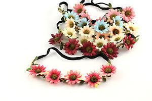 Kleidung & Accessoires Hell Haarband Stirnband Blumen Boho Hippie Festival Party Hochzeit Haarschmuck A135 äRger LöSchen Und Durst LöSchen