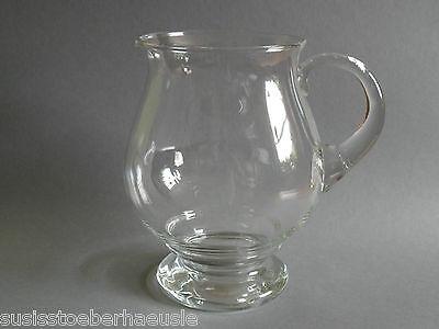 Glaskaraffe,  Saftkrug Karaffe Krug Glas  ca. 2,8 L