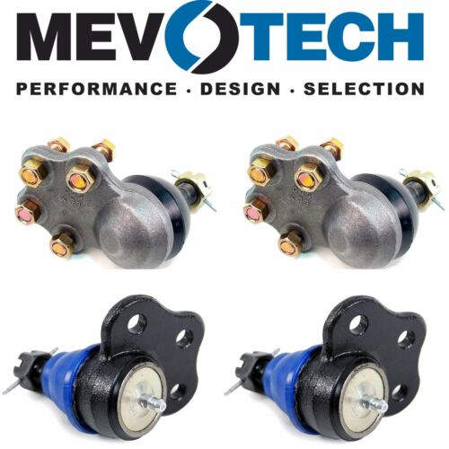 For Dodge Dakota Durango RWD Front Upper and Lower Ball Joints Mevotech