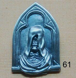 Romantisch Snoop Sensenmann Tod Alchemie Mystik Skull Gothik Pin Button Badge Anstecker 61 Esoterik, Mystik & Magie