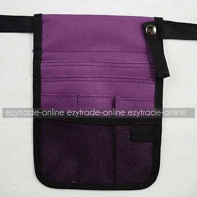 Nurse Pouch Quick Pick Waist Bag Pocket with Keyring for Vet Childcare Agecare