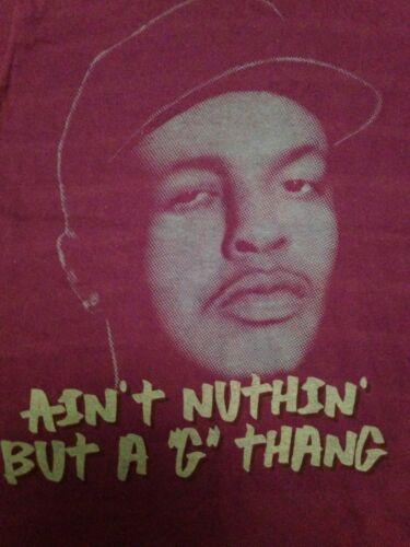 Vintage Dr Dre Tshirt Death Row Records NWA Snoop G Thang Easy E