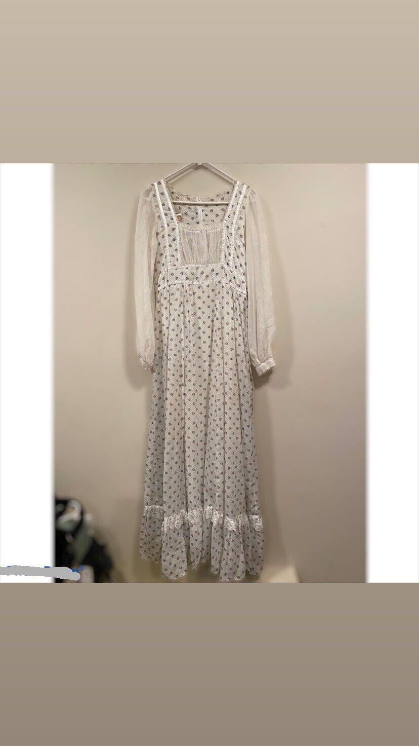 1970's Gunne Sax Prairie Cottage Core Dress - image 7