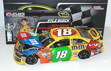 2013 Kyle Busch #18 M&M's Atlanta Raced Win New 1/24 Scale Diecast