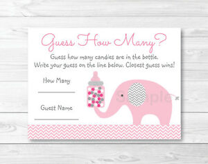 image relating to Baby Shower Cards Printable known as Info over Crimson Elephant Chevron Youngster Shower \