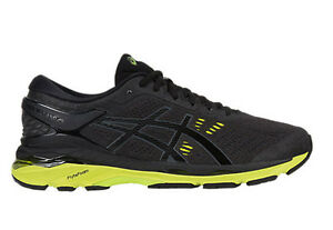 acheter pas cher fe461 48f9a Details about Asics Men's GEL KAYANO 24(2E) Running Shoes Wide Type  T7A0N.908 BLACK/GREEN