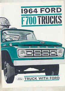 1964 Ford F700 Truck Brochure Australia wu4295